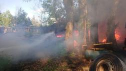 Tűz Sződligeten