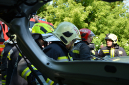 A katasztrófavédelmi műveleti szolgálat irányította a mentést