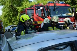 A gödöllői hivatásos tűzoltók dolgoztak a helyszínen