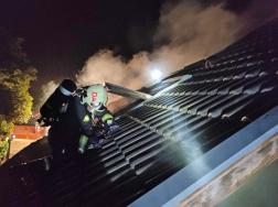 A héjazat megbontását követően tudták eloltani a lángokat