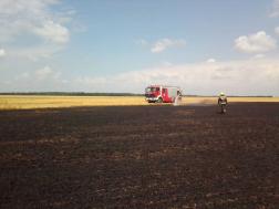 A tűzoltóknak több hektárt kellett átvizsgálniuk