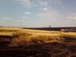 A tűzoltók munkáját egy erőgép is segítette