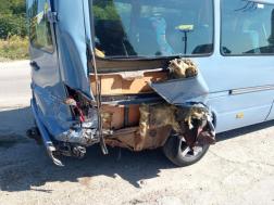 A kisbuszon tíz ember utazott