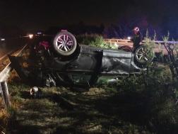 Az összetört gépkocsikba egy harmadik autó is belerohant