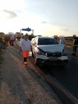 Öt autó ütközött össze az M4-es autóúton