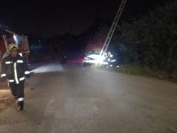A szentendrei tűzoltók végezték a műszaki mentési feladatokat