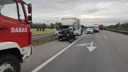 Újhartyán közelében történt a baleset