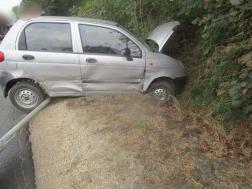 Két személygépkocsi ütközött össze Csörög közelében
